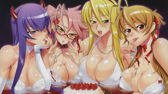 PACK PORNO #3 Highschool of the Dead